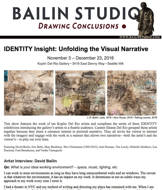 Read the Drawing Conclusions Nov 2016 newsletter
